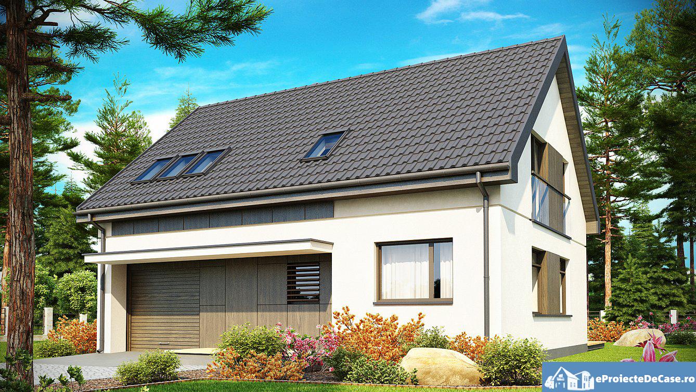 Proiect de casa cu mansarda 171