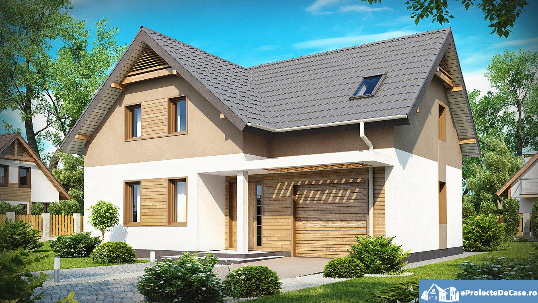Proiect de casa cu mansarda168