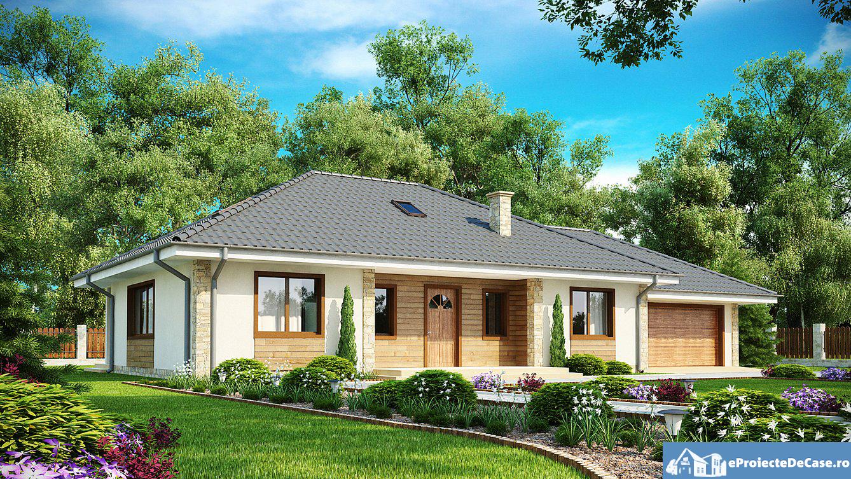 Proiect de casa cu mansarda 223