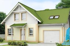 Proiect de casa cu mansarda si garaj https://www.proiectari.md/property/proiect-218