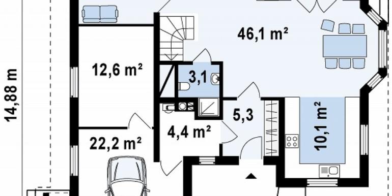 proiect-casa-cu-mansarda-si-garaj-58011-parter