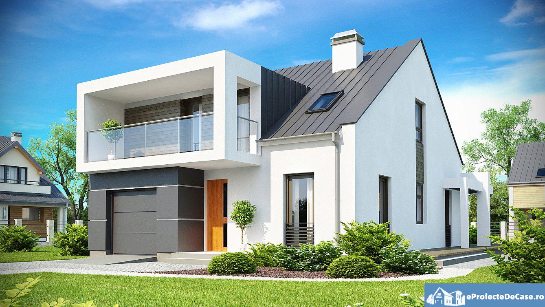 Proiect de casa cu mansarda 162