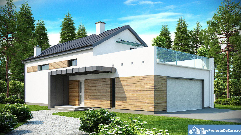 Proiect de casa cu mansarda 144