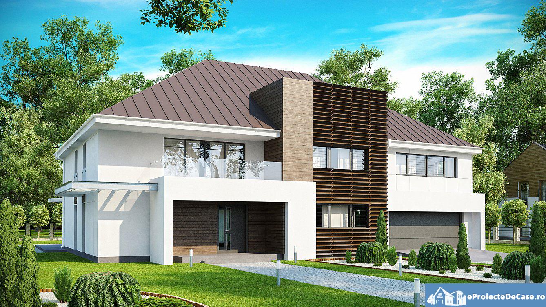 Proiect de casa cu etaj si garaj pentru doua masini 20
