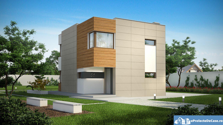 Proiect de casa cu parter si etaje – 10016