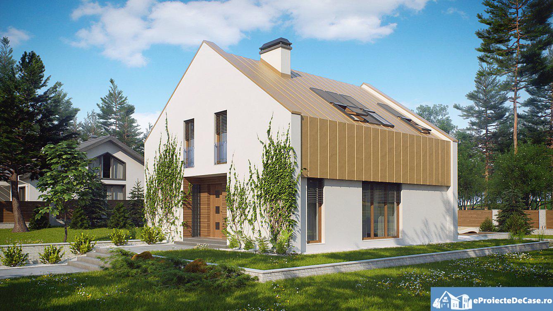 Proiect de casa cu mansarda 103