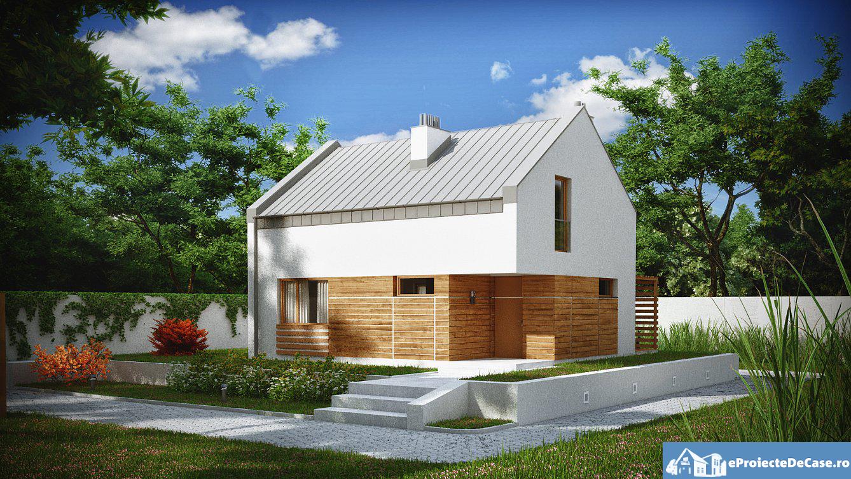 Proiect de casa cu mansarda 97