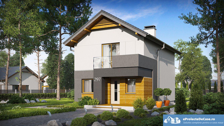 Proiect de casa cu etaj 46