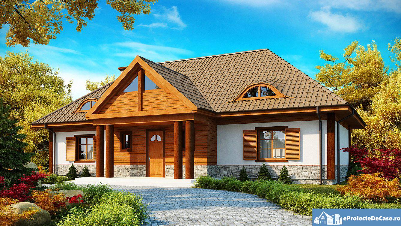 Proiect de casa cu mansarda142