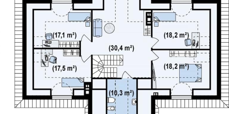 Proiect-casa-mare-Parter-Mansarda-20011-mansarda