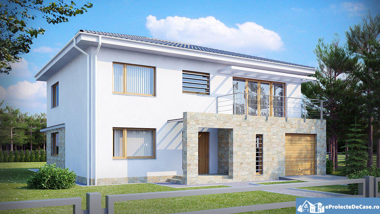 Proiect de casa cu doua etaje 36