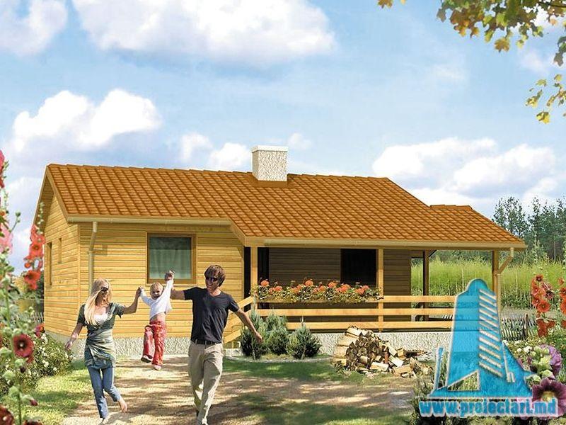 Proiect de casa cu parter 288