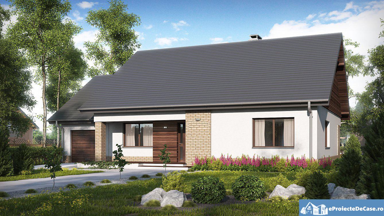 Proiect de casa cu parter 266