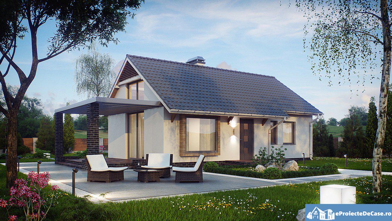 Proiect de casa cu parter 265