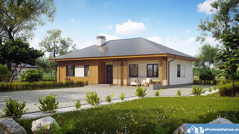 Proiect de casa cu parter 286