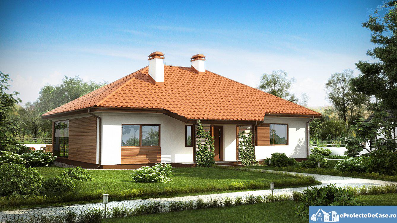 Proiect De Casa Mica Cu Parter 274 Proiectari Si Constructii