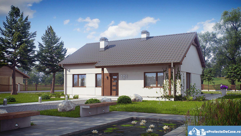 Proiect de casa cu parter 264