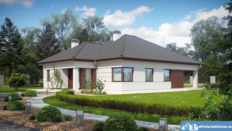 Proiect de casa cu parter 263