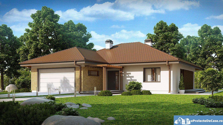 Proiect de casa cu parter 283