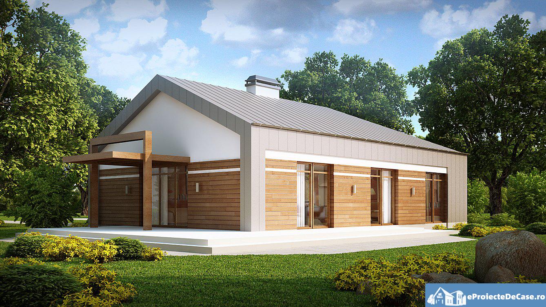 Proiect de casa cu parter 281