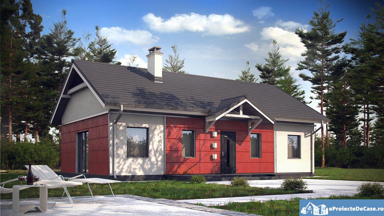 Proiect de casa mica cu parter 273
