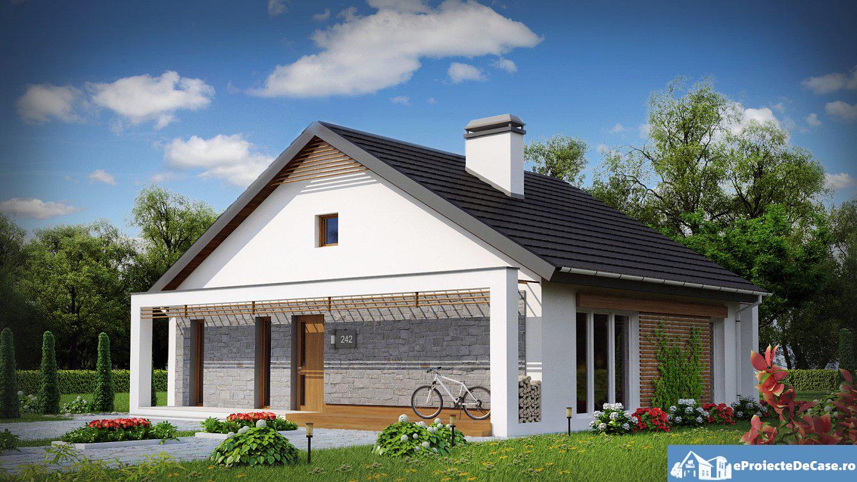 Proiect de casa cu parter 280