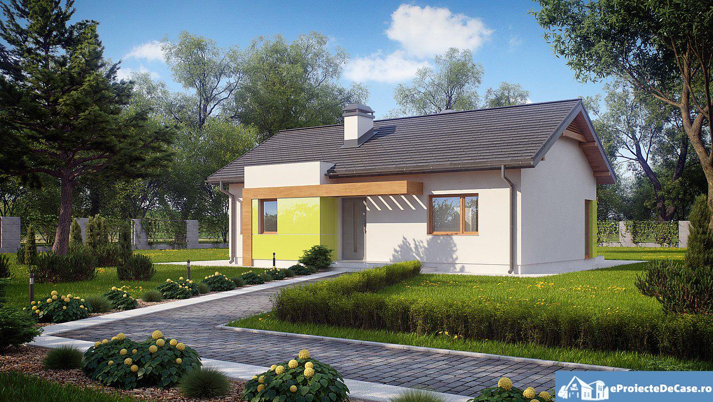 Proiect de casa cu parter 262