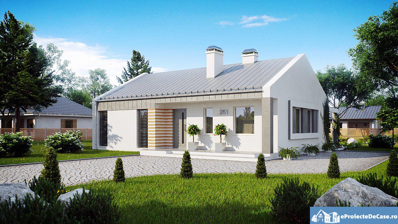 Proiect de casa mica cu parter 279