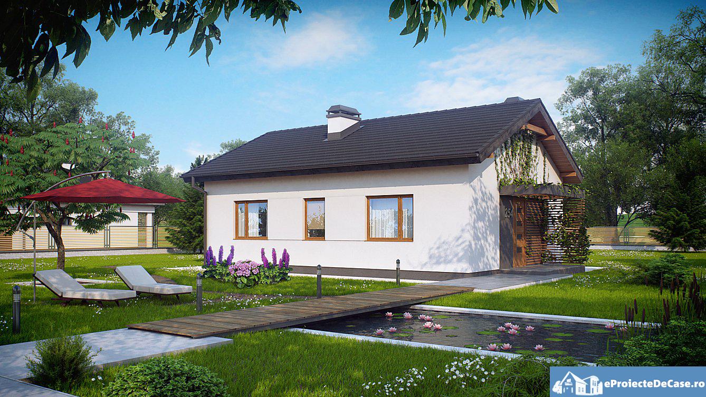 Proiect de casa cu parter 261