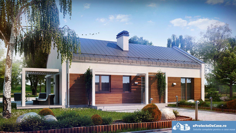 Proiect de casa cu parter 258