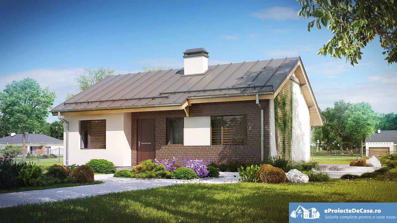Proiect de casa cu parter 256