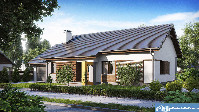 Proiect de casa cu parter 255
