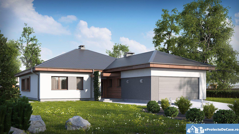Proiect de casa cu parter 267