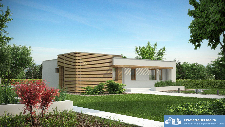 Proiect de casa cu parter 254