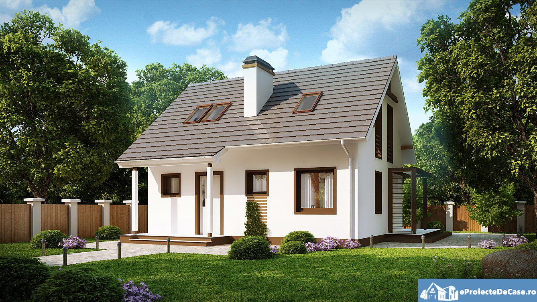 Proiect de casa cu mansarda 106