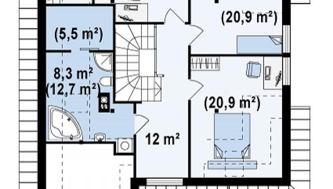 Proiect-de-casa-Parter-Mansarda-Garaj-49011-mansarda