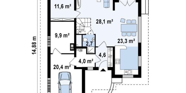 Proiect-de-casa-Parter-Mansarda-Garaj-49011-parter