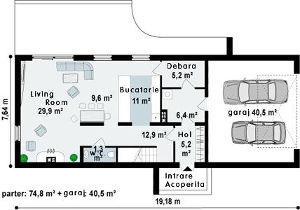 Proiect-de-casa-Parter-Mansarda-Garaj-e400112