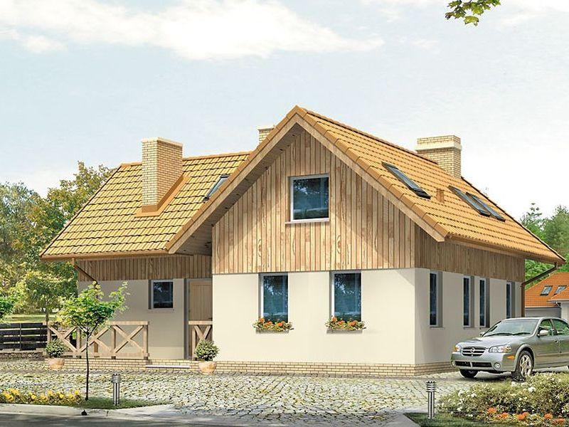 Proiect de casa cu mansarda 118