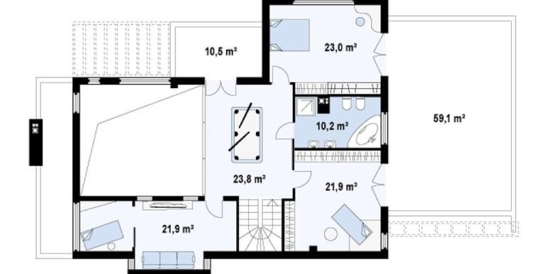 Proiect-de-casa-mare-Parter-Etaj-Garaj-e1011-etaj