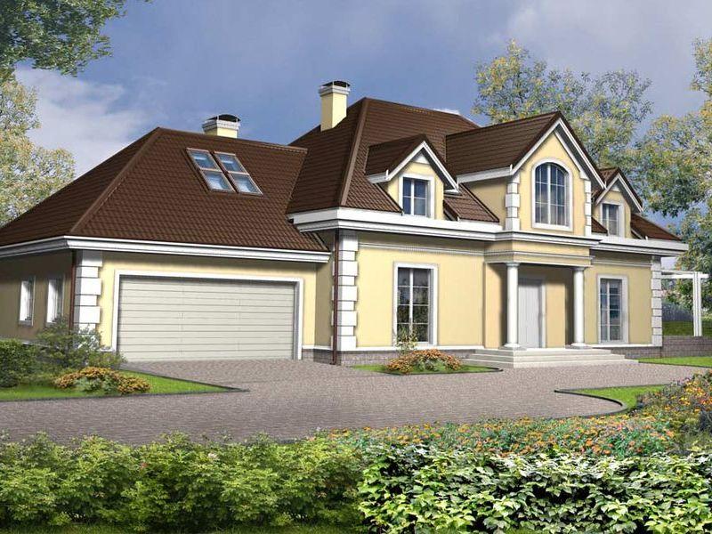Proiect de casa cu mansarda 139