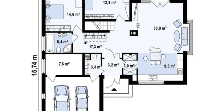 Proiect-de-casa-mare-Parter-Mansarda-Garaj-e36011-parter