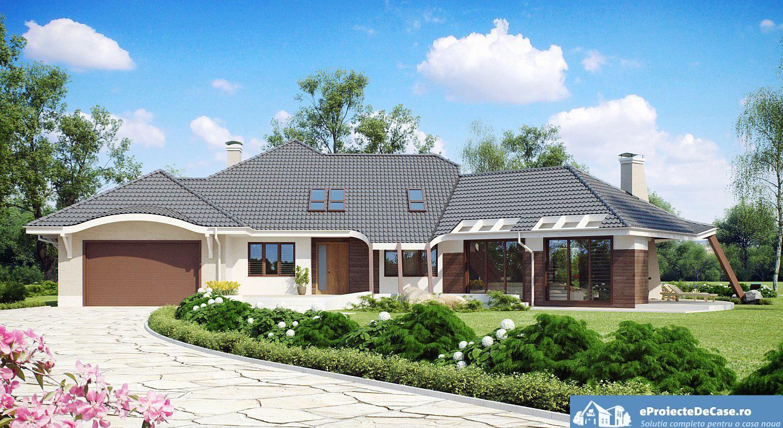 Proiect de casa cu mansarda 124