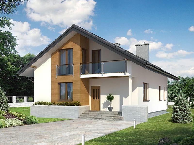 Proiect de casa cu mansarda 111