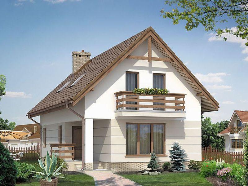 Proiect de casa cu mansarda 121