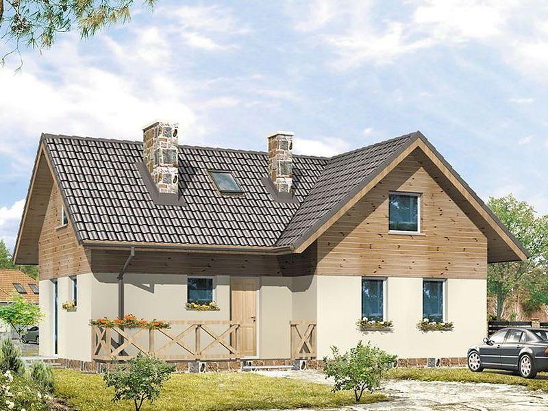 Proiect de casa cu mansarda 119