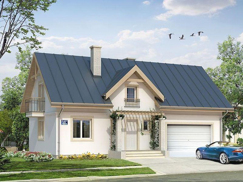 Proiect de casa cu mansarda 116