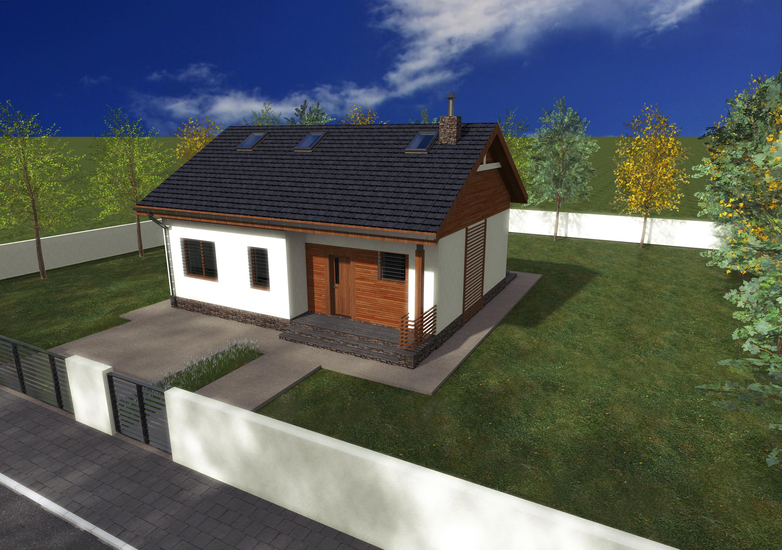 Proiect de casa cu parter  251