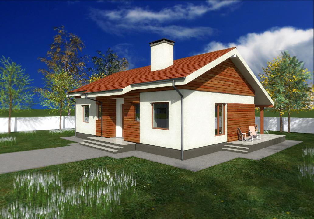 Proiect de casa cu parter 243
