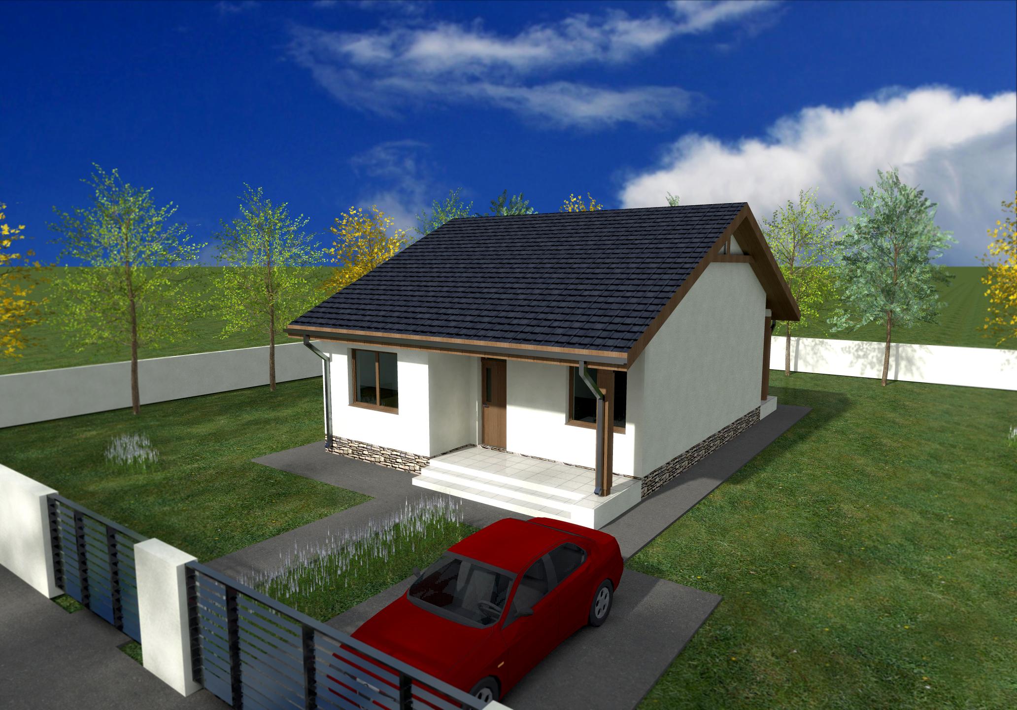 Proiect de casa cu parter 249